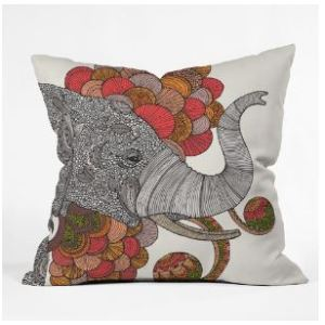 Dreams of India Throw Pillow by Ramona