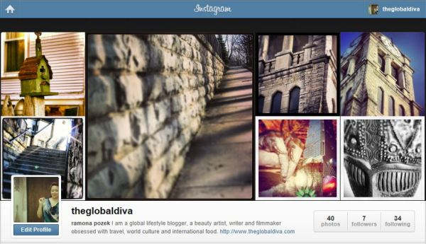the global diva on Instagram