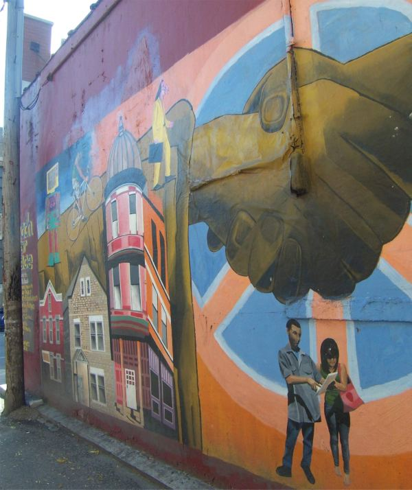 Peace Mural in Pilsen