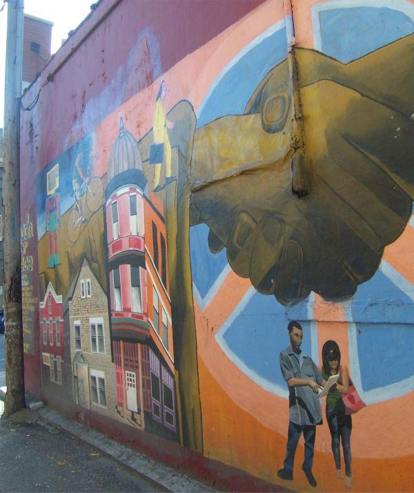 Peace Mural in Pilsen
