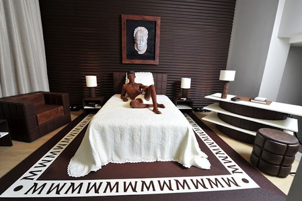 Lagerfeld's Chocolate Room at La Reserve Hotel