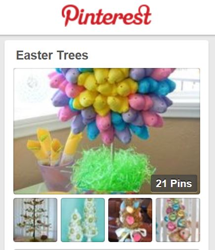 easter tree pins