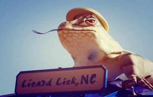 lizard lick effect